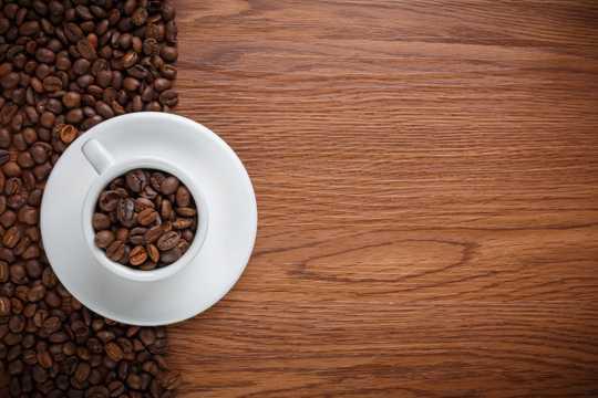 棕色咖啡豆高清图片