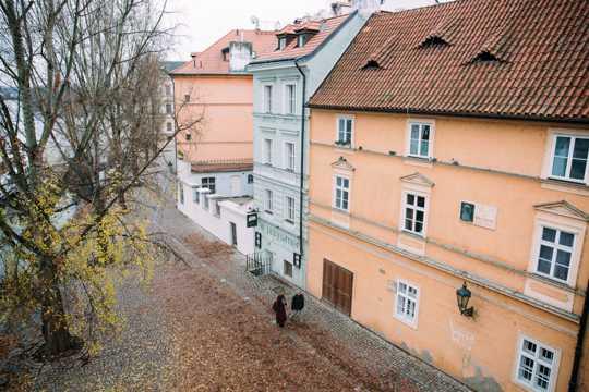 捷克共和国首都布拉格都市景物图片