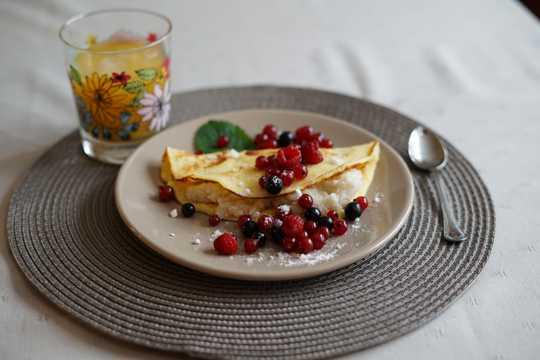 椰子煎饼图片