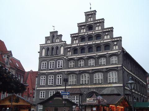 德国卢内堡建筑光景图片