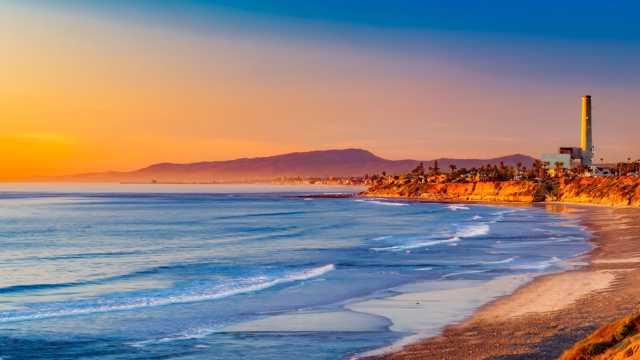 秋日的加利福尼亚州风光图片