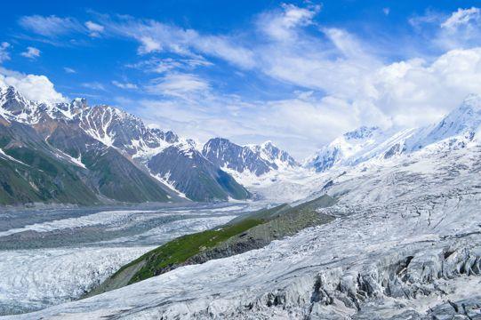冰川雪山图片
