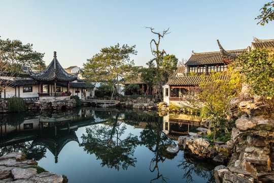 江苏苏州网师园光景图片