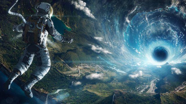 幻想黑洞太空