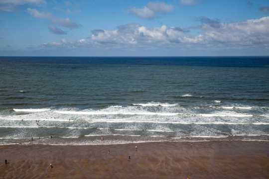 沙滩景致图片