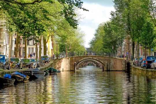 荷兰阿姆斯特丹建筑风光图片