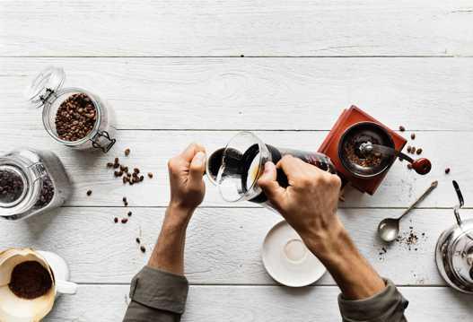 手工现磨咖啡图片