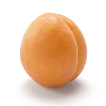 新鲜的黄桃