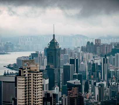 繁茂林立的大厦大楼图片