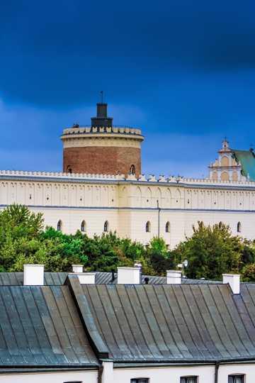 波兰建筑光景高清图片