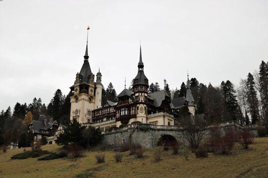 罗马尼亚派勒斯城堡建筑景物图片