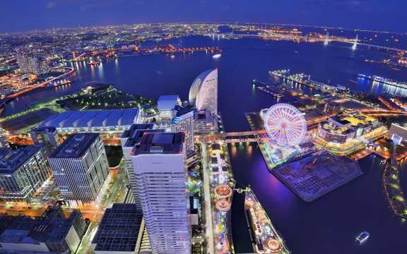 日本横滨光景图片