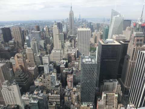 美国历史地标纽约曼哈顿帝国高楼建筑图片