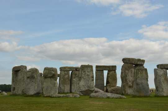 英国巨石阵自然景致图片