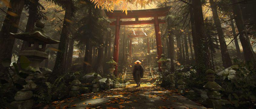 前往日本寺庙的人