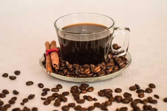 香醇的咖啡豆图片
