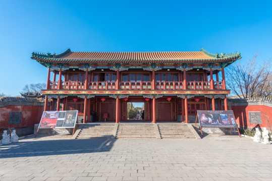 北京北普陀影视城景象图片