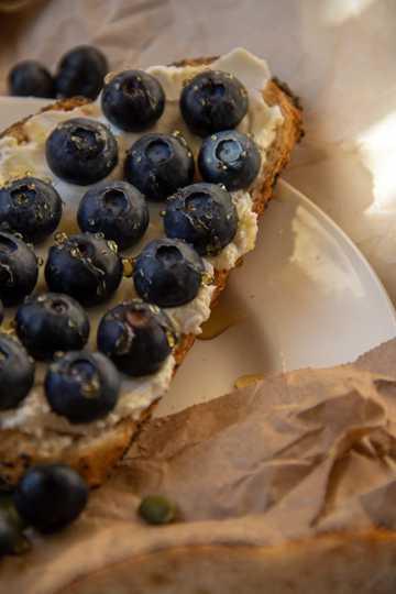面包早餐图片