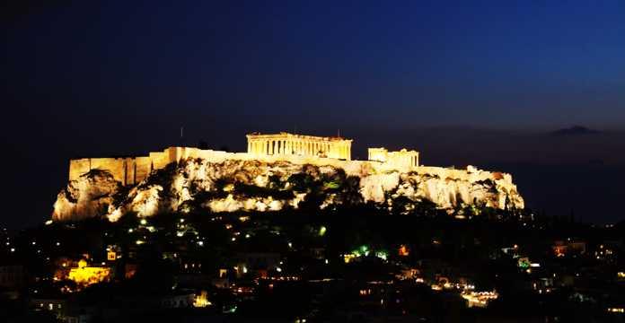 希腊雅典风光图片