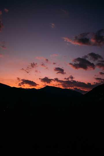 漂亮的晚霞图片