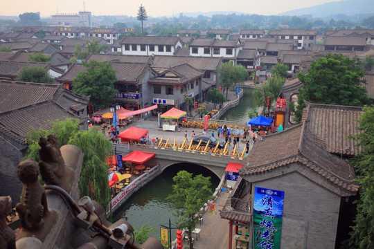 河北唐山滦州古城景致图片