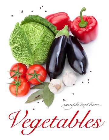高清茄子白菜图片