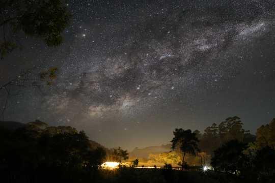夜空唯美图片