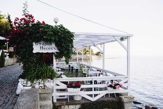 内塞巴尔古城的中餐厅