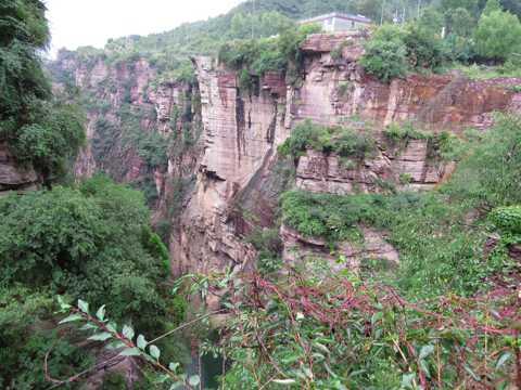 山西陵川锡崖沟景物图片