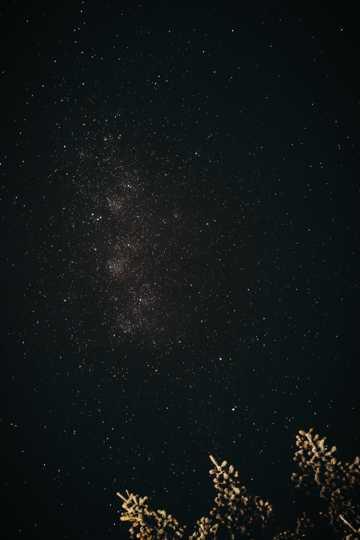 高清黑色背景夜空图片