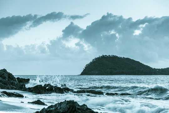 澳大利亚凯恩斯绿岛景象图片