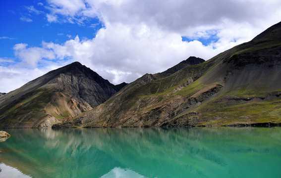 西藏冰雪自然风光图片