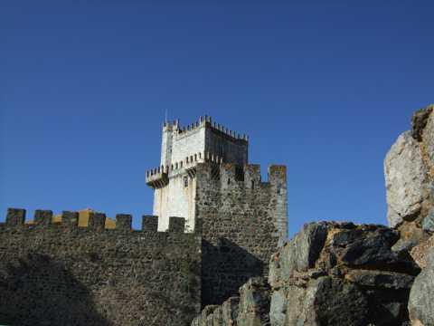 葡萄牙卡斯凯尔都会建筑风光图片