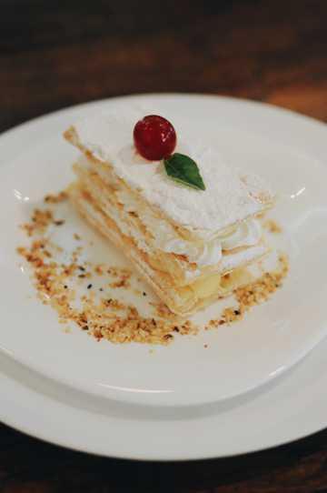拿破仑蛋糕图片