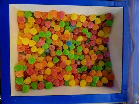 色彩缤纷的糖果图片