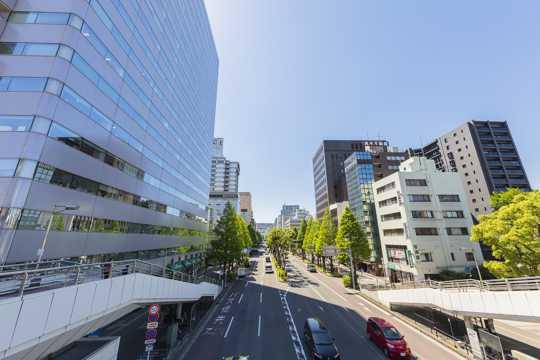 日本川崎市都会景色图片