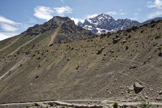 塔吉克斯坦山峦自然景色图片