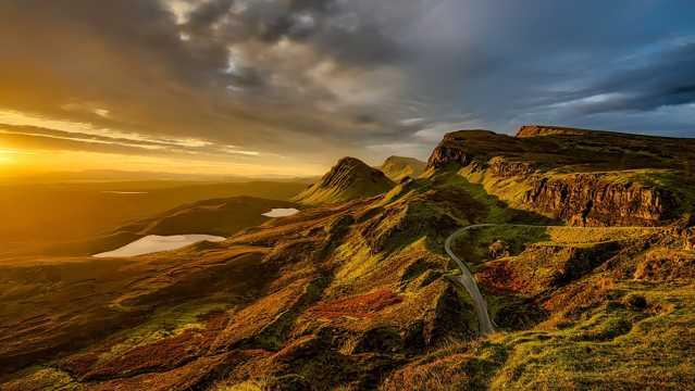 苏格兰景致图片