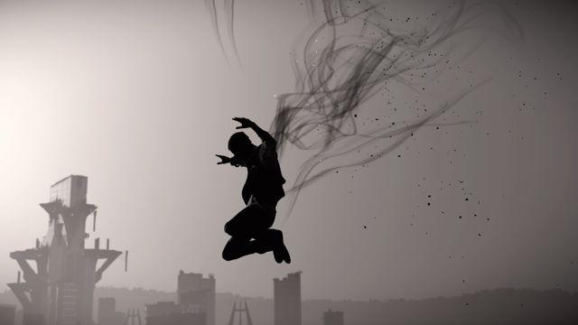 跳跃的黑影