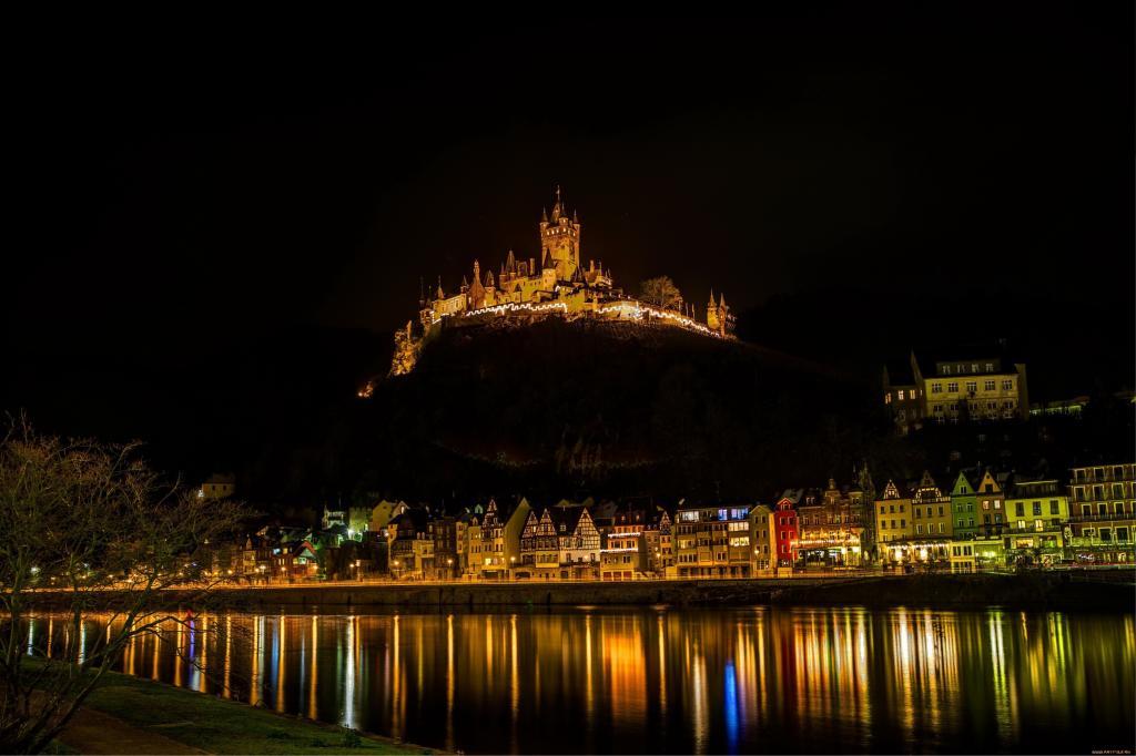 德国的城堡,德国的城堡,美丽的
