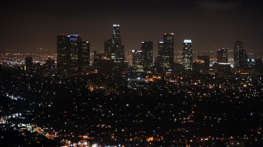 城市夜晚美景