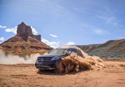 超级跑车,汽车,奔驰,照片,灰尘峡谷