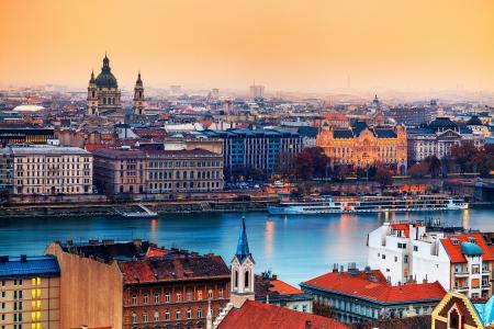 布达佩斯,匈牙利,天主教大教堂,首都,城市
