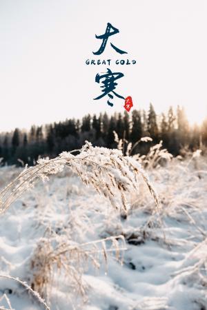 传统节气之大寒