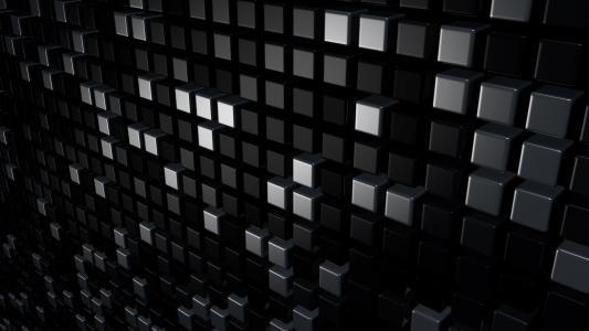 立方体,3d,呈现