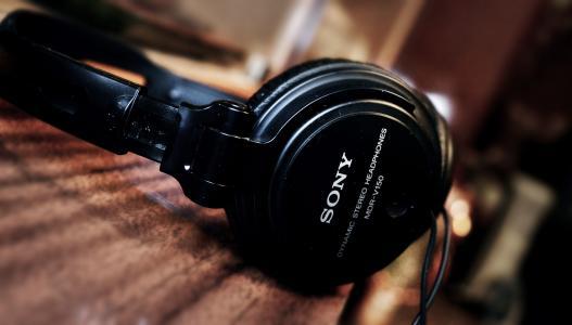 索尼,耳机,耳机