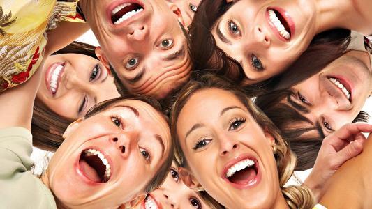 人,微笑,喜悦,欢笑,积极