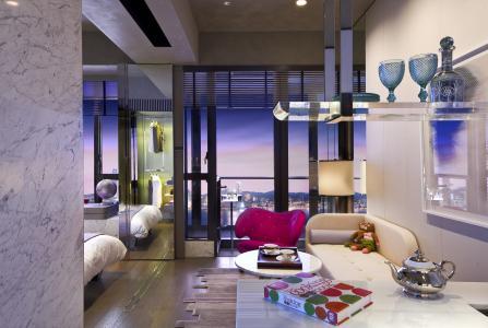 风格,室内设计,大都市,公寓