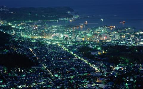 日本,城市,北海道