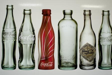 可口可乐,餐具